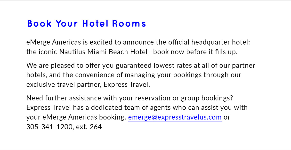 Book your hotel rooms